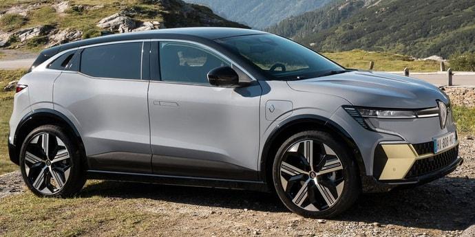 Renault представила серийный электромобиль Megane E-Tech
