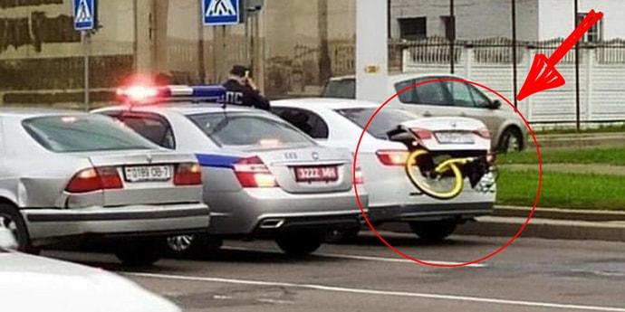 Милиция, здесь велосипед в багажнике! Почти детективная история