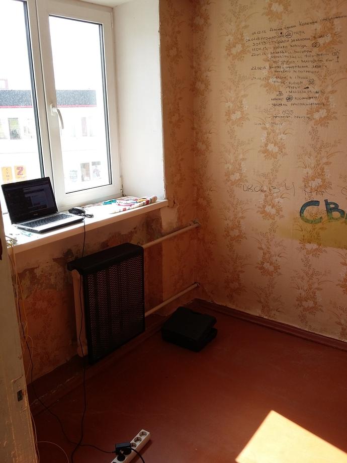 Молодая семья превратила убитую хрущевку в дизайнерскую квартиру