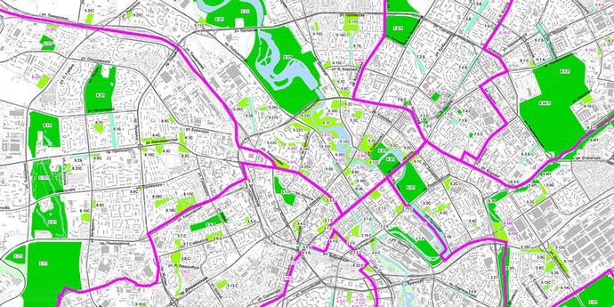 Границы минских парков, скверов и бульваров вынесены на общественное обсуждение. Публикуем схемы