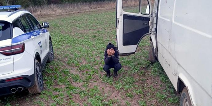 Под Слуцком дети угнали микроавтобус. В районе вводился план «Перехват»