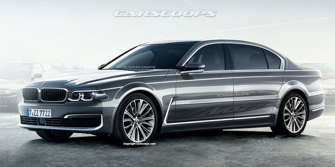Если бы BMW E38 выпускали сегодня, она выглядела бы так