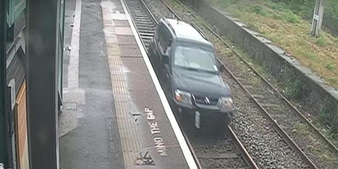 В Великобритании мужчина выехал на железную дорогу. Ему дали 15 месяцев тюрьмы