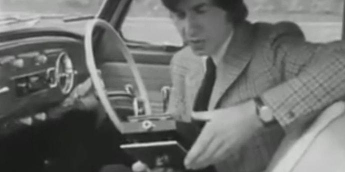В 1971 году был представлен кассетный навигатор. Как он работал?  (видео)