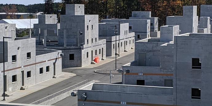 В США построили целый «фейковый» город для Госдепа