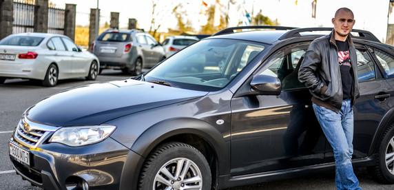«Тачка нарасхват». Андрей решил окончательно пересесть на микроавтобус для туров метал-групп и продать Subaru Impreza