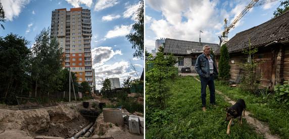 Анклав в мегаполисе. Минчанин не дает снести частный дом для строительства многоэтажки и второй год выигрывает суды у застройщика