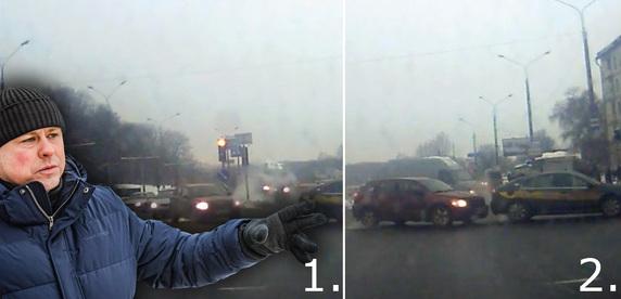«Напоминает игру в рулетку — красный или зеленый?» Разбор двойной аварии на проспекте Машерова
