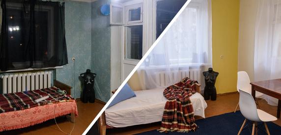 Превращаем комнату в «убитой» квартире в комфортное жилье за три дня и 690 рублей
