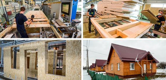 Домокомплект за 40 тысяч рублей: репортаж с конвейерного производства каркасно-панельных домов