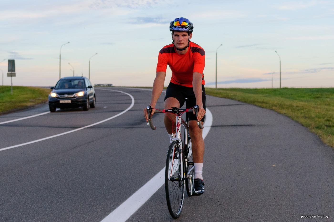 Картинки велосипедиста и машины