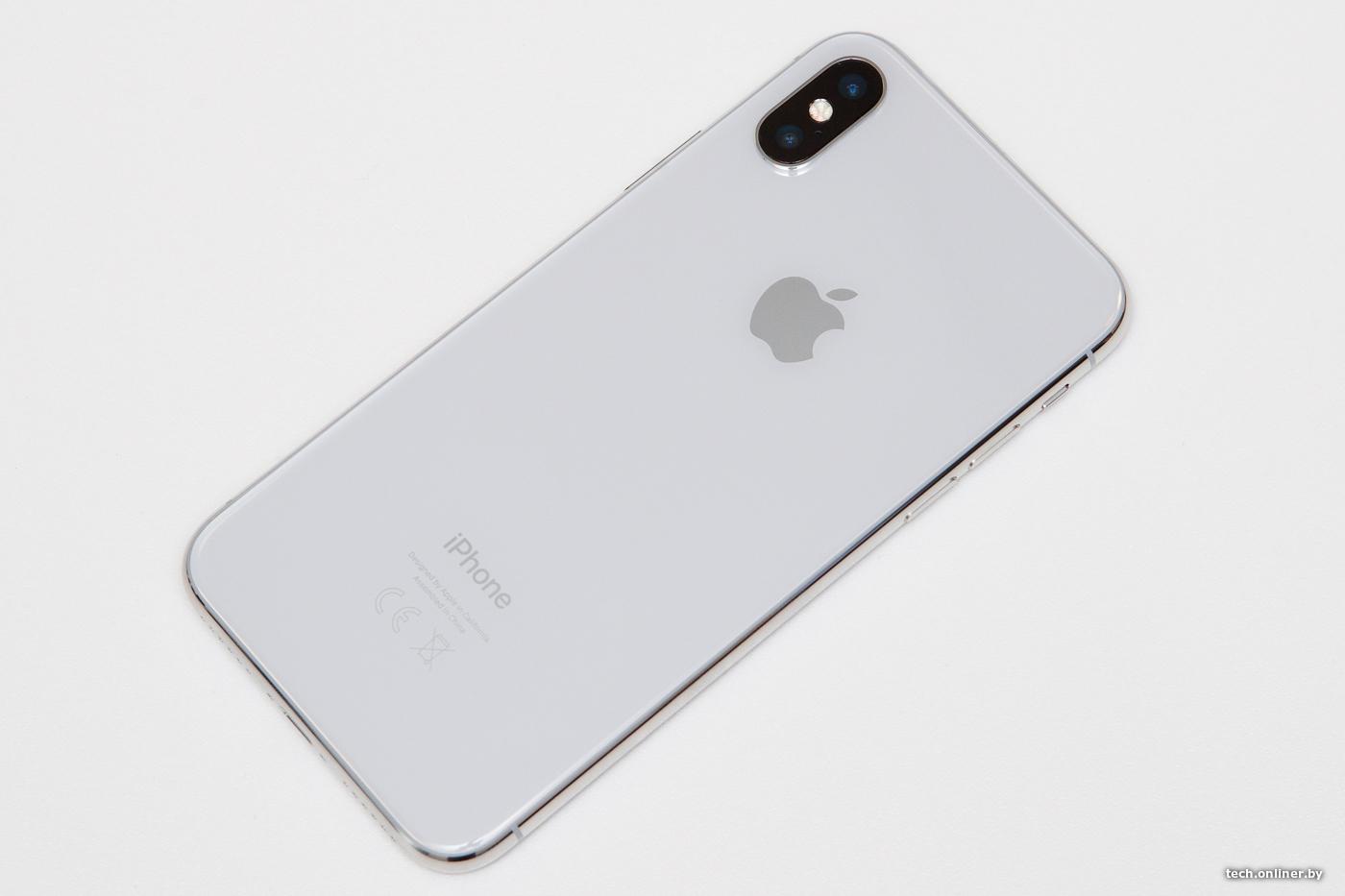 b53a7353f567 Это еще и первый OLED-дисплей для смартфона Apple. По сравнению с  IPS-матрицей экран намного ярче и красивее. Цвета выглядят более  естественно, ...