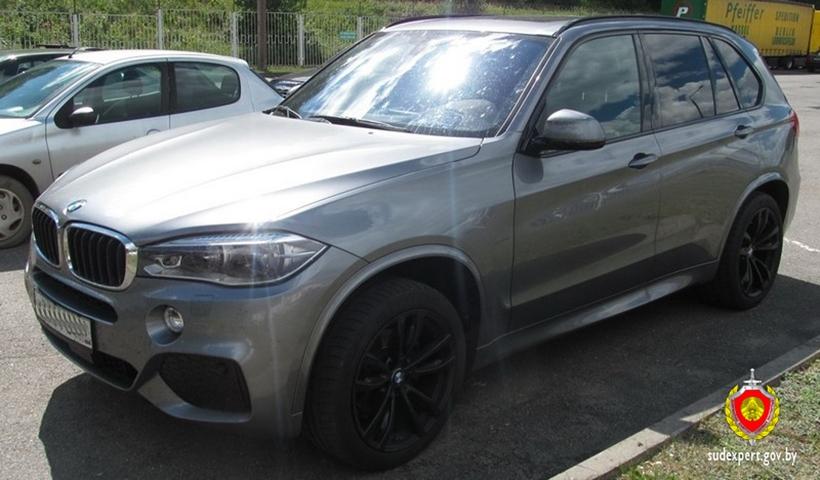 На таможне был задержан BMW X5, разыскиваемый Интерполом