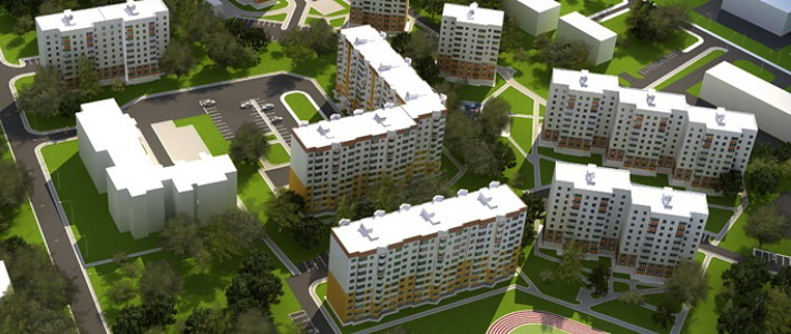 За два месяца квадратный метр в строящемся доме в Сенице подорожал на 2―2,5 млн рублей