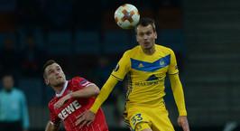 БАТЭ обыграл немецкий «Кельн» на «Борисов-Арене» и улучшил свои шансы на выход в 1/16 финала Лиги Европы