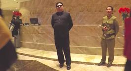 Видеофакт: «Ким Чен Ын» прогулялся по Нью-Йорку и попытался встретить Дональда Трампа