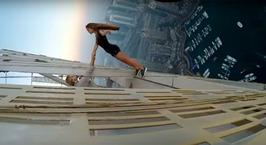 «Крэйзи Вика». Модель, принявшую участие в опасных съемках на вершине небоскреба в Дубае, вызвали в полицию