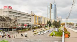 Реконструкцию путепровода, связывающего улицу Ленина и проспект Победителей, завершат в сентябре