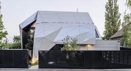 В Австрии построили оригинальный дом в стиле оригами