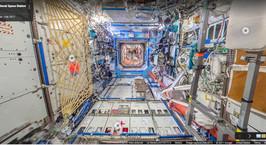 Международная космическая станция появилась в Google Street View