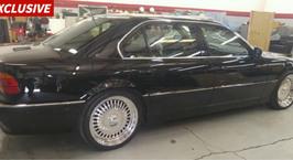 BMW, в которой был убит Тупак, выставили на продажу