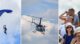 Небесные баталии и гонки на вертолетах. В Минске открылся фестиваль воздушного спорта «Пронебо»