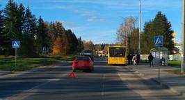 В Минском районе легковушка сбила ребенка на пешеходном переходе