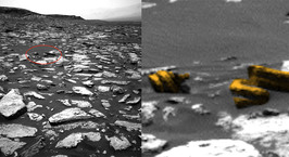 Охотники за НЛО нашли на Марсе обломки «инопланетного двигателя»
