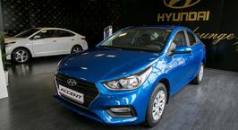 В Минск приехал новый Hyundai Accent