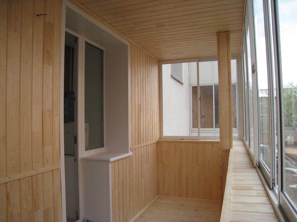 Обшивка балконов / остекление балконов / услуги ульяновск.